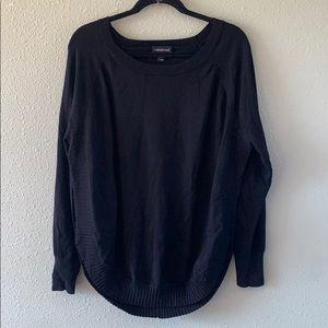 Lane Bryant black pullover sweater 26/28